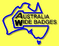 AUSTRALIA WIDE BADGES logo
